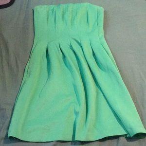 Strapless New York and Company Midi Dress